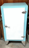 Antique Ice Box Fridge Pantry Cupboard
