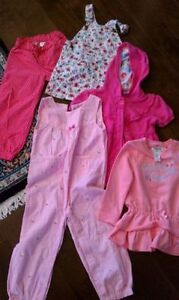 2T,3T girl clothes 5-piece gymboree oshkosh disney