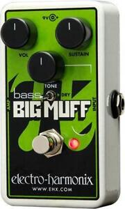 Electro Harmonix NANO BASS BIG MUFF PI Distortion/Sustainer