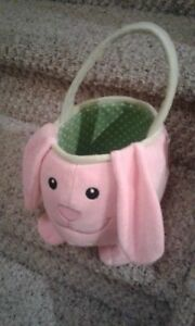 Brand new with tag still attached bunny basket... Easter!