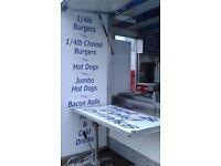 14ft Showmans Style Burger Van Catering Unit