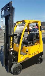 Lift 2012 Hyster forklift 3000 propane Chariot elevateur usage