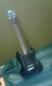Mint 22 year old Epiphone SG,Gibson hardware, upgraded pickups