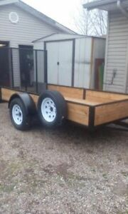 Custom Built Trailer....Others available. Will build to suit.