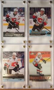 Calgary Flames young guns rookie hockey cards