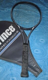 Two $50 Prince Graphite Powerflex 110 Tennis Rackets for Sale