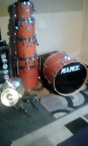 6 Pc Mapex M series drums