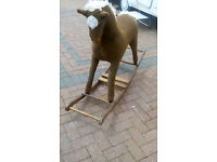 LOVELY AND VERY LARGE ROCKING HORSE NEEDS LOVING HOME !
