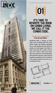 Indx Luxury Condo, 0Br, 1B, 70 TEMPERANCE ST, 54 Story Building