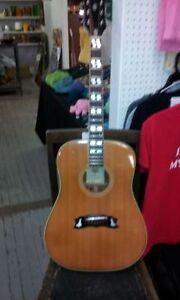 GB 25 El Degas Dove Acoustic Guitar