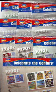Celebrate the Century 1900-1990 USA Stamps