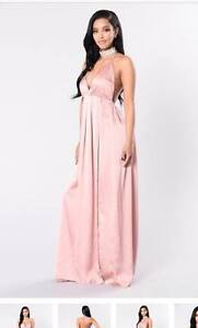 NEW PINK DRESS FOR PROM GRAD WEDDING OR MORE SIZE SMALL