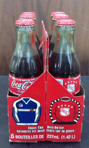 1999 & 2000 Coca Cola / coke 6 pack bottles with carriers Cambridge Kitchener Area image 7