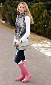 NEW !  GENUINE HUNTER RAINBOOTS- FALL STREET STYLE ! Edmonton Edmonton Area image 1