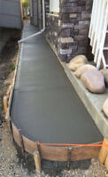 Concrete new driveway, sidewalks or a patio pad call 226-7003221