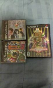FINAL FANTASY VIII, MONSTER RANCHER for SONY PLAYSTATION 1 2 3