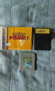 POKEMON SILVER, PINBALL PLAY W/ GAMEBOY ORIGINAL, ADVANCE OR SP