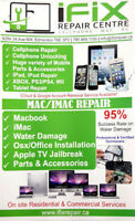 Macbook- IMAC and Cell Phone Repair Services