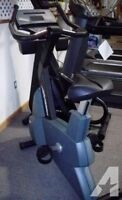 Life Fitness 9500HR Next Generation Commercial Upright Bikes