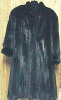 DESIGNER Mink Coat