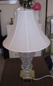 Crystal Lamps $80