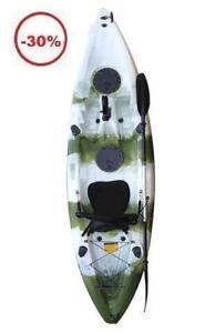 kayak de pèche avec 5 portes cannes a pèche 399.99!!