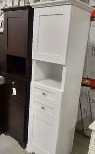 SOLID WOOD LINEN TOWER CABINETS and WALL CABINETS ON SALE !!! Cambridge Kitchener Area image 5