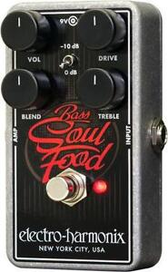 Electro Harmonix BASS SOUL FOOD Transparent Overdrive