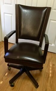 Real leather office chair !