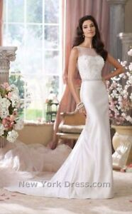Brand new David Tutera wedding dress- size 10