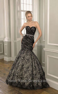 Beautiful Mori Lee Wedding Dress in Black