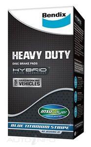 Bendix Front Brake Pads for MERCEDES BENZ SPRINTER 2D C/C RWD 616CDI 02~06  (Hea