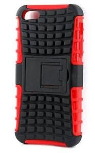 Defender Combo Case Cover for iPhone 5, 5S - Red