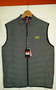 Nike GOLF  Reversible Vest 483582 SIZE MEDIUM NEW
