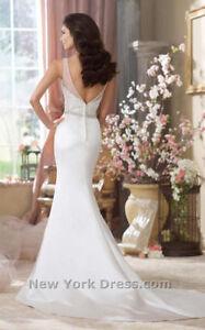 Brand new David Tutera wedding dress- size 10 Kitchener / Waterloo Kitchener Area image 2