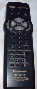 PANASONIC REMOTE CONTROL MODEL LSSQ0230 TV VCR DSS