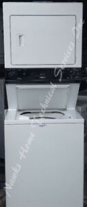Large Capacity Stacked Washer Dryer, 12 month warranty