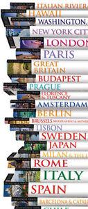 Huge Lot Of Eyewitness Travel Guides Like New!