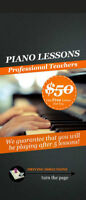 Paino lessons - FIRST LESSON FREE