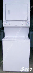 Electrolux Large Capacity Stack Washer Dryer, 1 year warranty