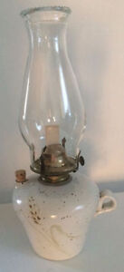 2 LAMPES À L'HUILE