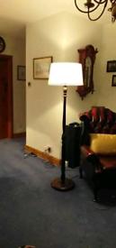 Vintage standard lamp
