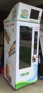 MAX Healthy Vending machine - perfect money maker!
