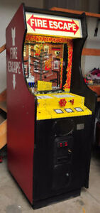 FS: Mech-Tronic Fire Escape arcade game 1984, Rare!