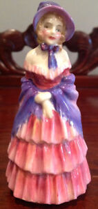 RARE Royal Doulton Figurine - A VICTORIAN LADY M25
