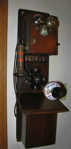 Wanted: Antique Telephones - Tel. Parts-Old Telephone Signs Belleville Belleville Area image 5