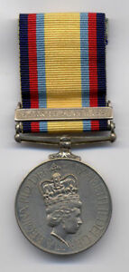 British 1991 GULF WAR MEDAL