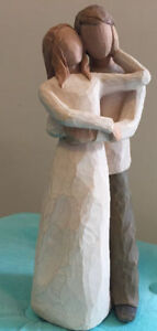 Willow tree figurine, Hand-carved sculpture-Together