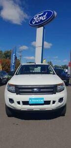 2012 Ford Ranger PX XL Super Cab White 6 Speed Manual Cab Chassis Goulburn Goulburn City Preview