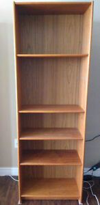 Four Shelf Bookcase (pick-up only)